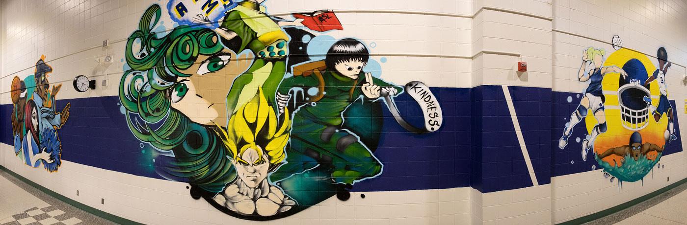 Hiatt Hallway Mural