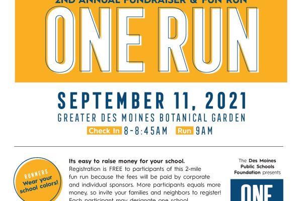 One Run- Fundraiser